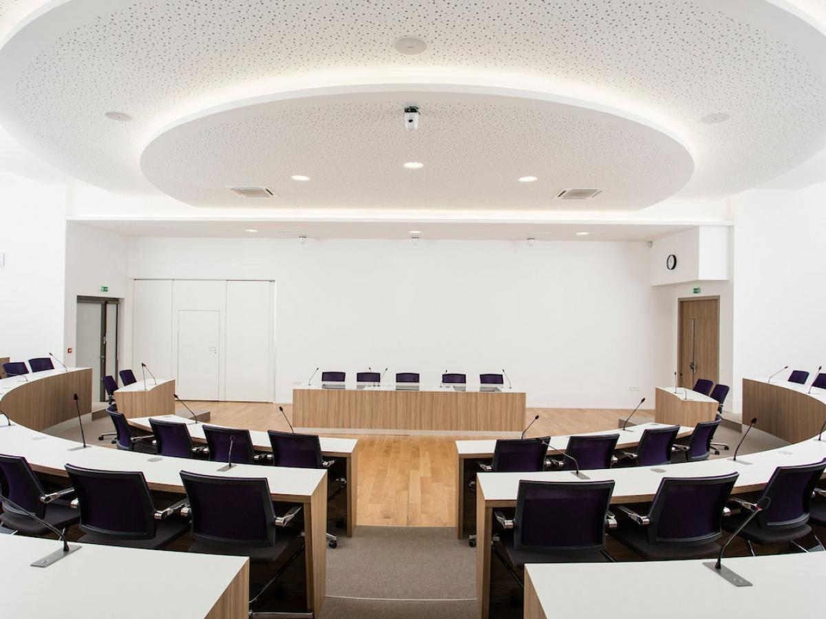 Plafond - Maison Intercommunale des Services de Benfeld