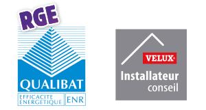 Qualibat RGE ENR - Installateur conseil Velux
